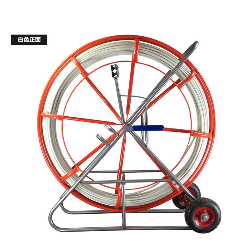 管道疏通器 穿管通管拉线电缆穿孔通棒穿缆光缆引线 玻璃钢穿线器