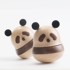 Several original panda ornaments music box music box wooden gifts for girlfriends girls girls birthday gifts lettering
