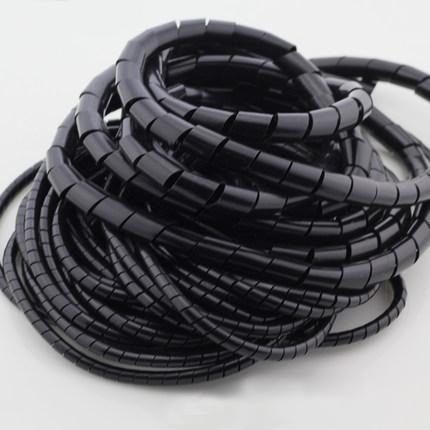 缠绕管4/6/8/10/12/16/20/25/30MM 电线保护套 绕线管 包线管包邮