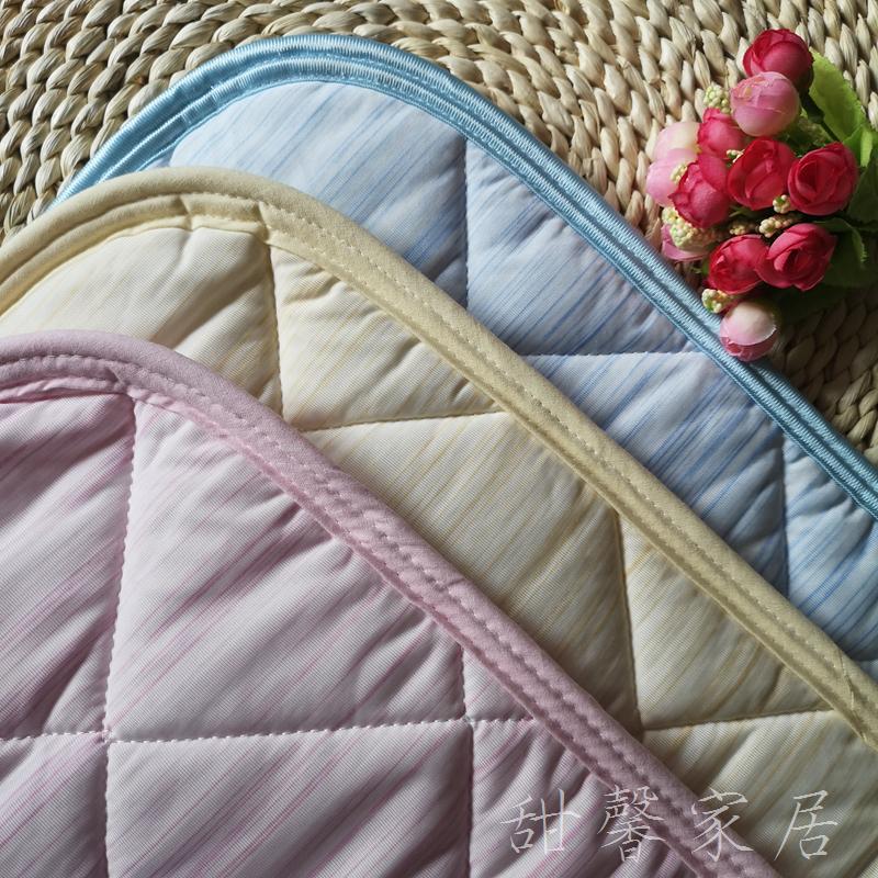 日本黑科技~夏季冷感40*60cm單人枕巾 簡約防滑不脫落涼感枕墊巾