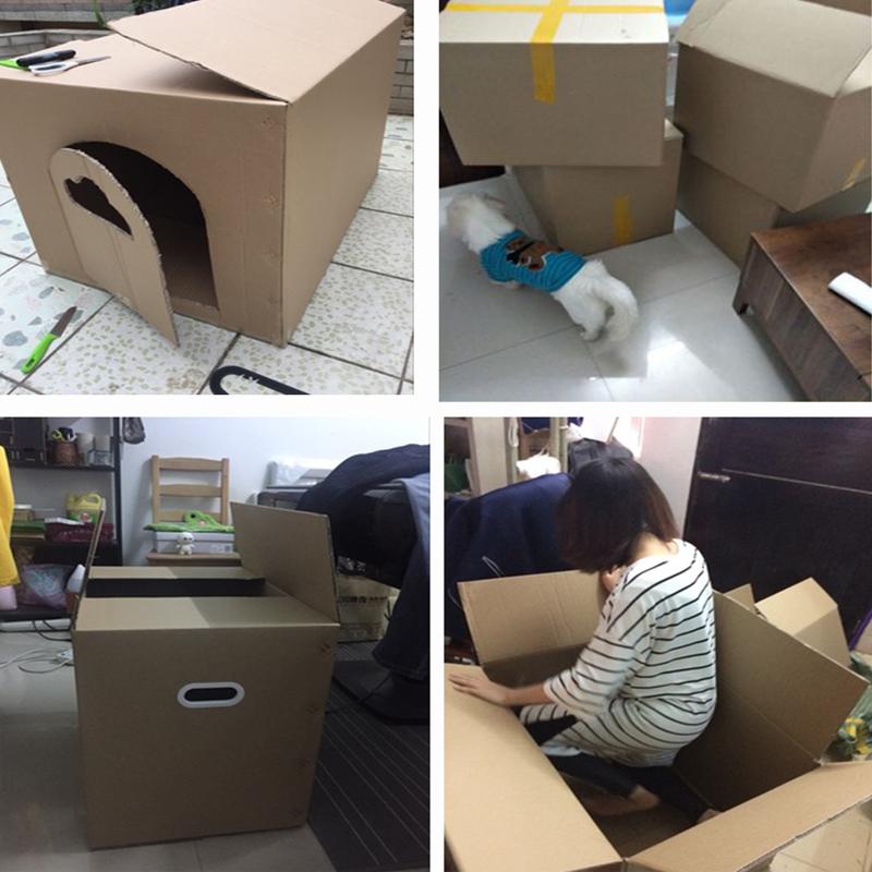 搬家纸箱大号快递物流发货用打包装特硬加厚收纳整理盒子定做订制 No.2