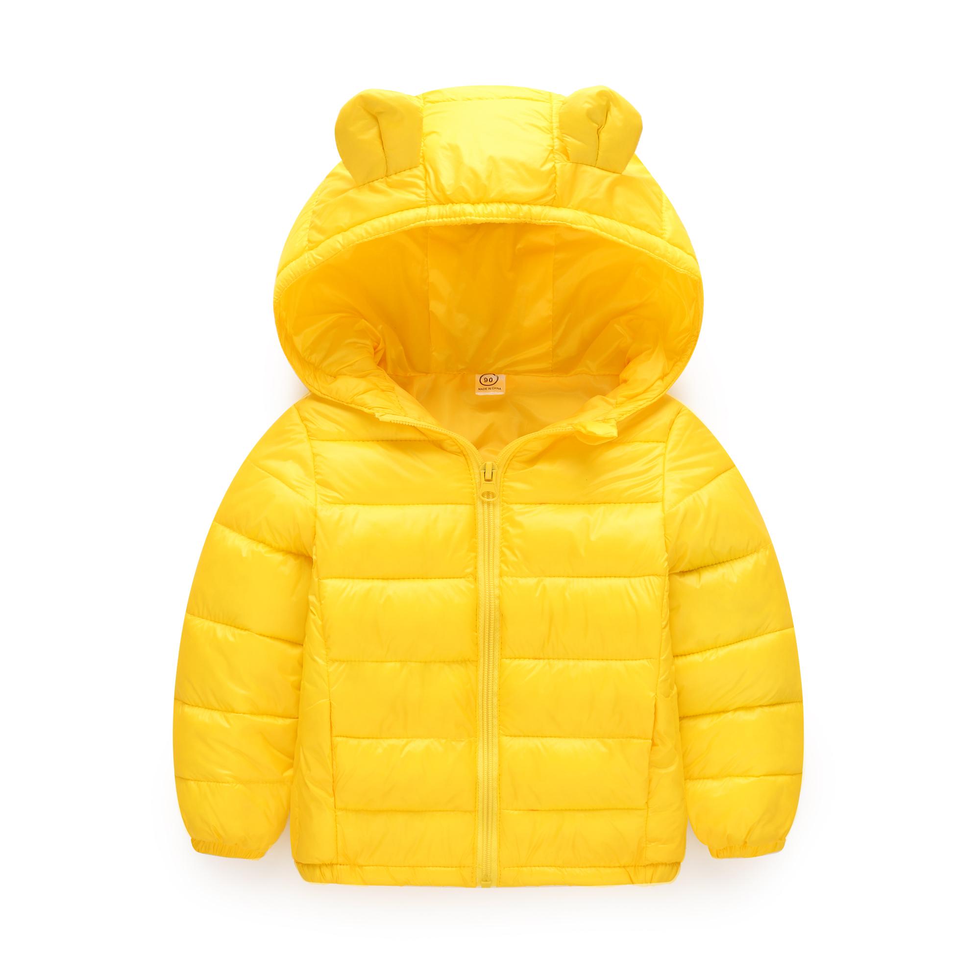 兒童輕薄羽絨棉服中小童冬裝男女童保暖棉衣冬季加厚寶寶棉襖外套