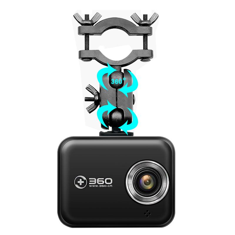 奇虎360行车记录仪J501C一代后视镜支架通用固定后视镜悬挂式支架