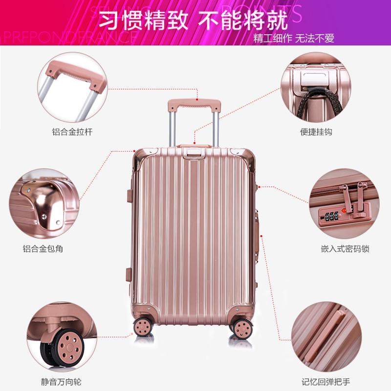 ins 寸男网红女行李箱 28 寸大学生 20 旅行密码皮箱子万向轮 24 拉杆箱