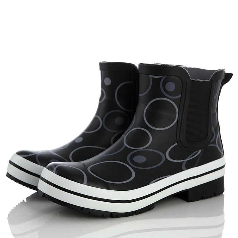 B&L切尔西雨鞋女短筒套鞋成人女士韩国时尚雨靴低帮防水防滑水鞋