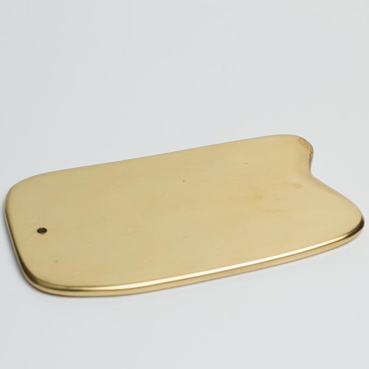 纯铜刮痧板正品纯铜加厚家用全身通用经络刮痧板铜板铜正品送精油