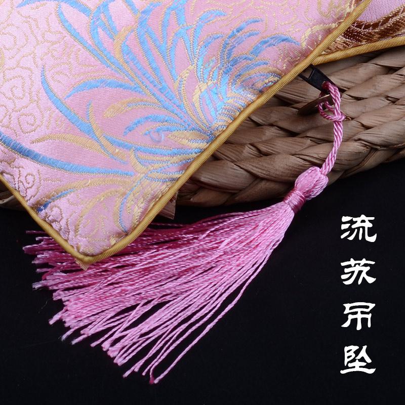 中国风南京云锦铜钱包纪念品刺绣零钱包女特色手工艺品传统小礼物