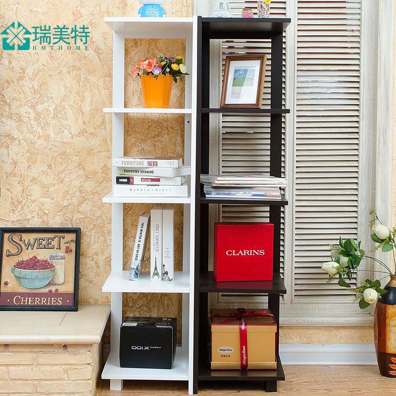 瑞美特客廳臥室轉角架牆角置物架落地電視牆置物架書架花架多層架