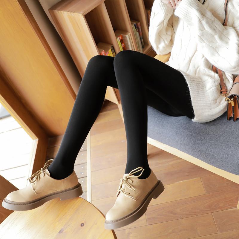 秋冬肉色打底裤女薄款外穿光腿冬天神器秋季肤色厚款秋裤加绒丝袜