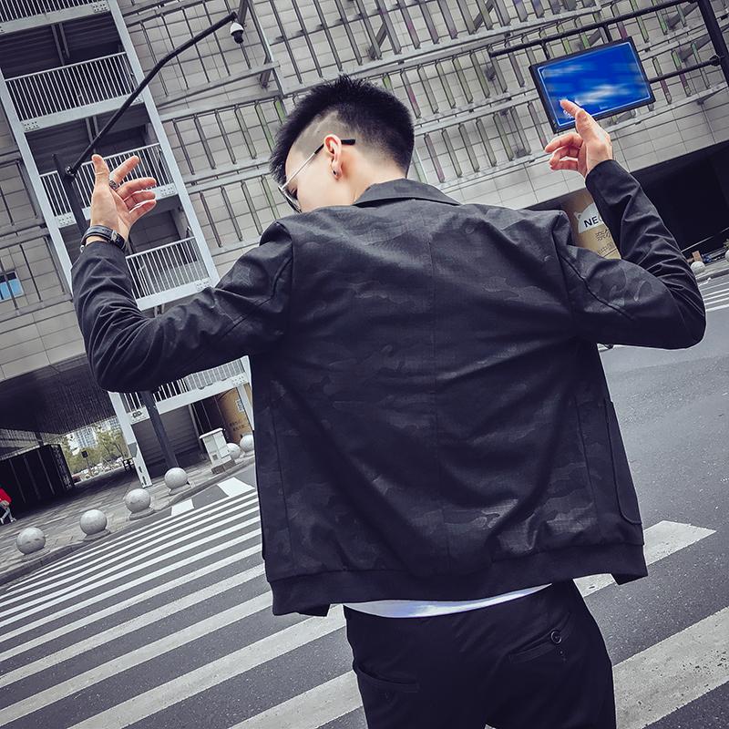 外套男秋季2020新款韩版潮流帅气潮男夹克网红时尚小伙百