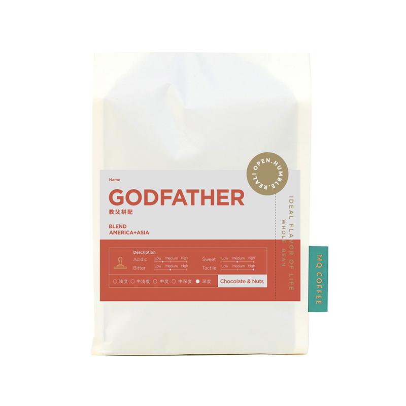 明谦咖啡经典意式浓缩拼配咖啡豆香醇拿铁现磨纯黑咖啡粉深度烘焙