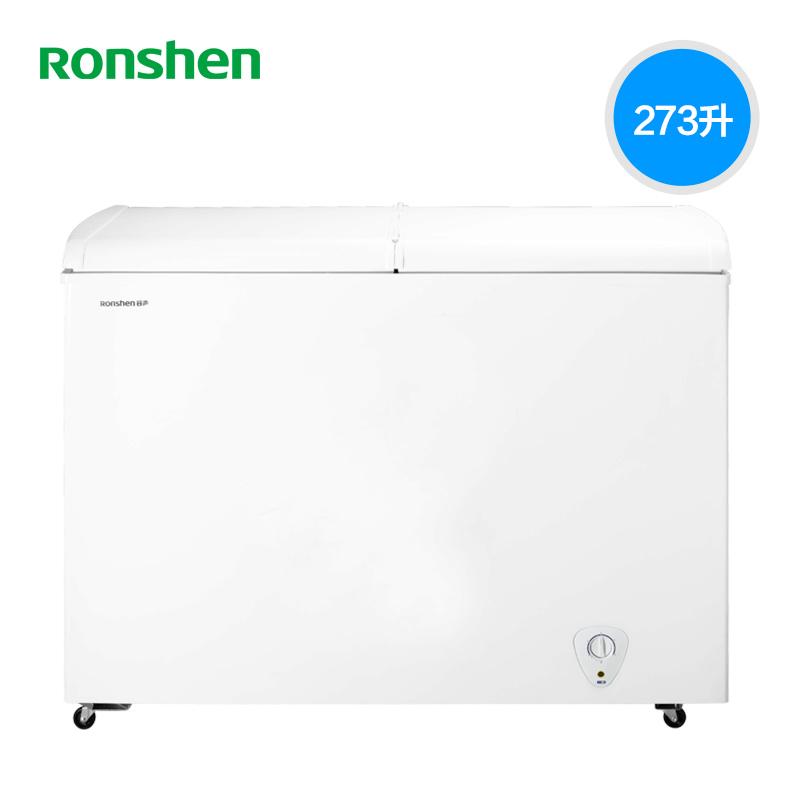 大冷柜 双温 商用冷藏冰箱双门家用 冰柜 273KB BCD 容声 Ronshen