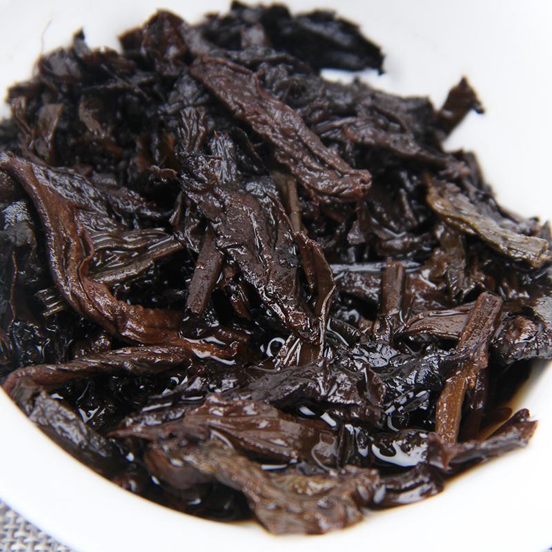 勐海七子茶饼 357g 年大吉大利 10 年 5 云南茶叶普洱茶熟茶特级饼茶