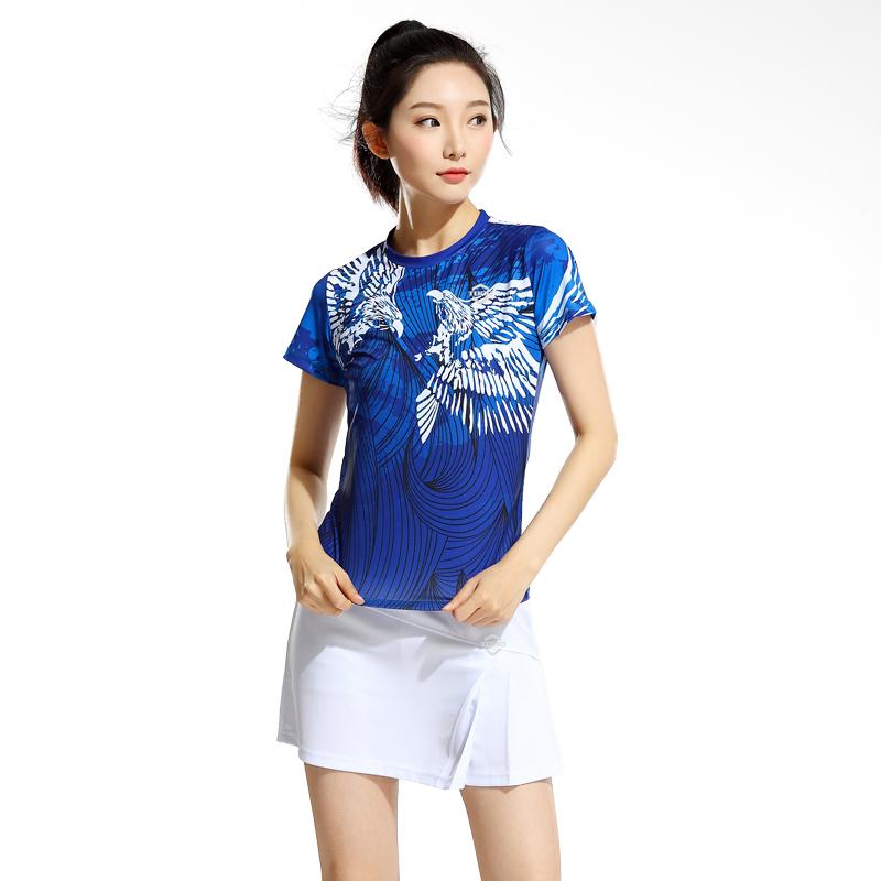 夏新款唐盾羽毛球服乒乓球服网球男女速干透气排汗轻薄裙裤套装