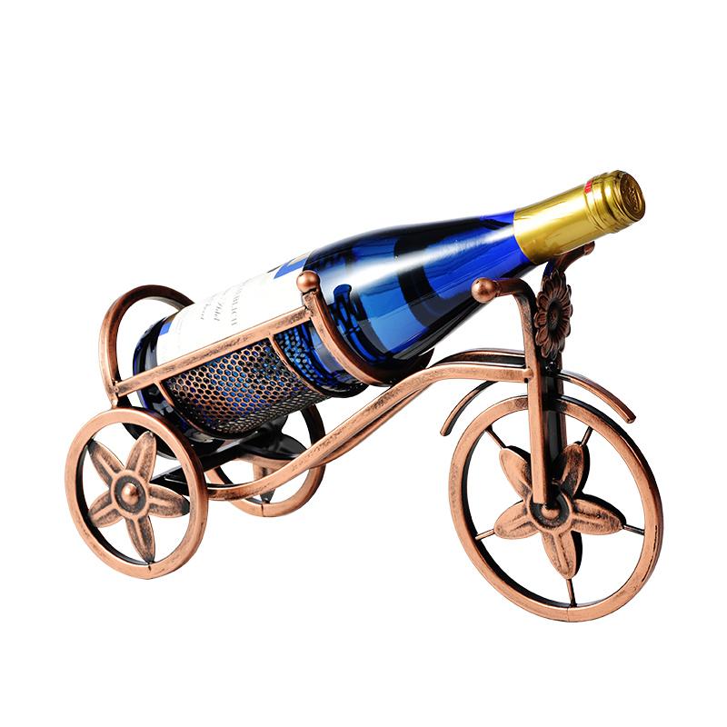 创意红酒架摆件酒柜装饰品家用倒挂红酒杯架葡萄红酒瓶酒架悬挂