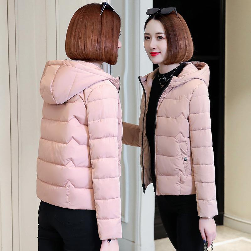 羽绒棉服女冬装 年新款棉衣韩版宽松妈妈棉袄短款加厚袄子外套  2019