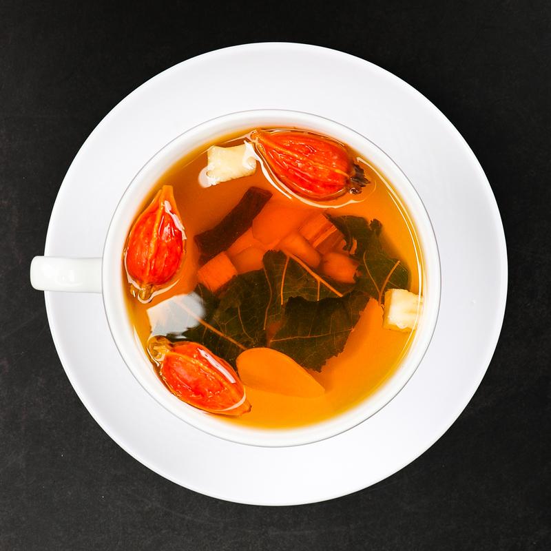 菊苣栀子茶葛根降秀初清肽尿高酸排茶正品初堂根中葛根饮