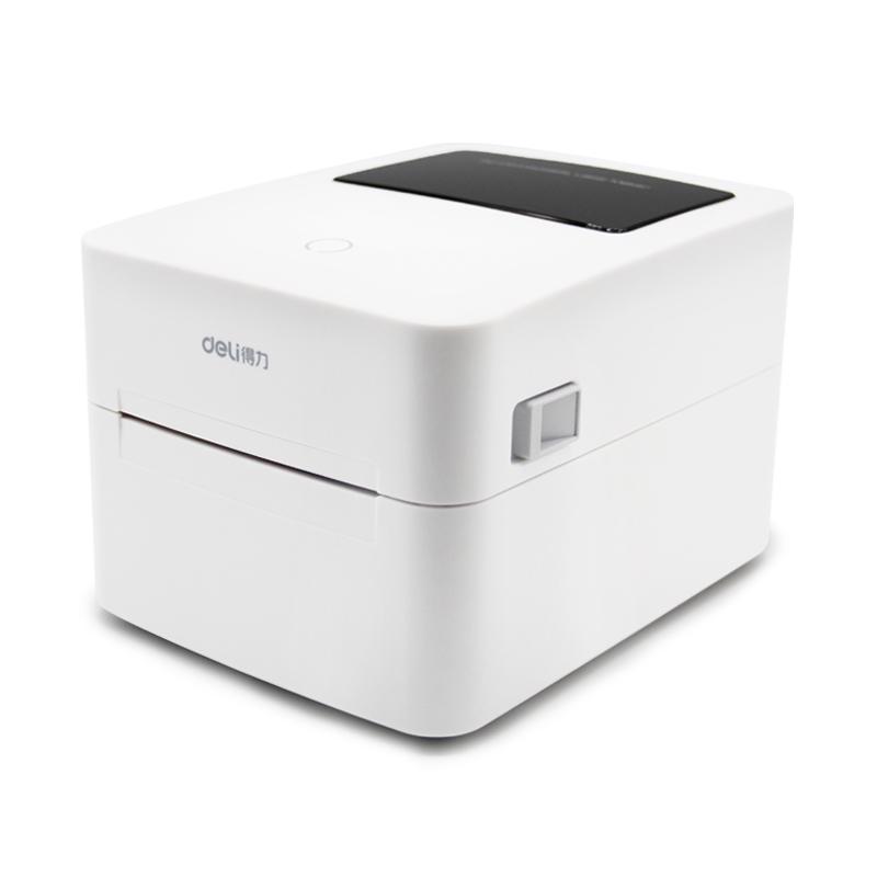 得力电子面单打印机不干胶二维码便签纸淘宝菜鸟订单热敏打印机打单机蓝牙标签条码快递单打印机