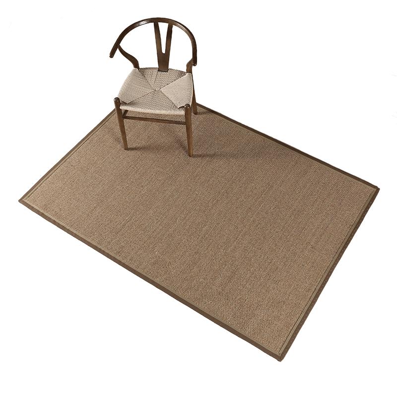 剑麻地毯草编榻榻米麻垫客厅茶几环保麻地毯麻编卧室阳台亚麻地垫