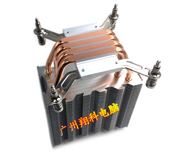 1155 风扇 2011CPU X79 X58 双路服务器主板 1366 散热器 CPU 铜管 4 电影C