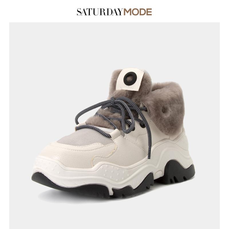 MD8411A048 星期六女新品老爹鞋系列时尚女运动鞋 SATURDAYMODE