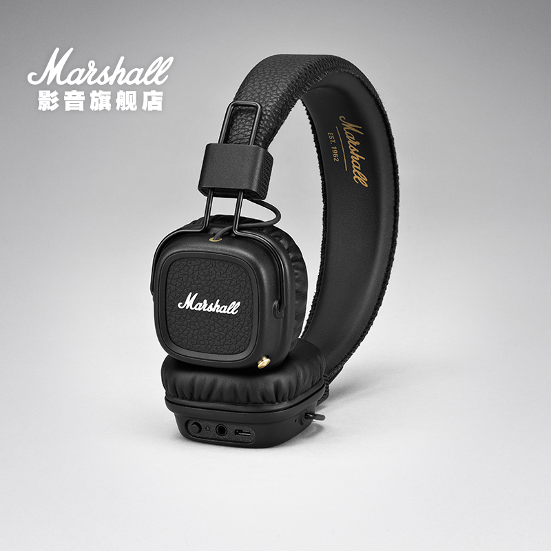 MARSHALL MAJOR II BLUETOOTH馬歇爾頭戴式HiFi重低音藍芽耳機