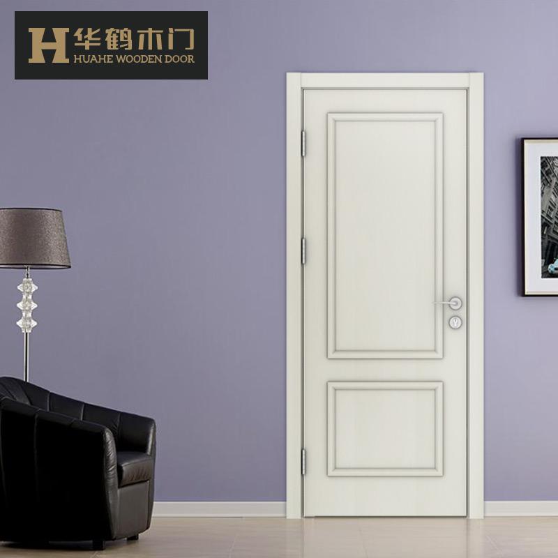 华鹤木门 简约室内门卧室门实木复合定制木门NM-D43