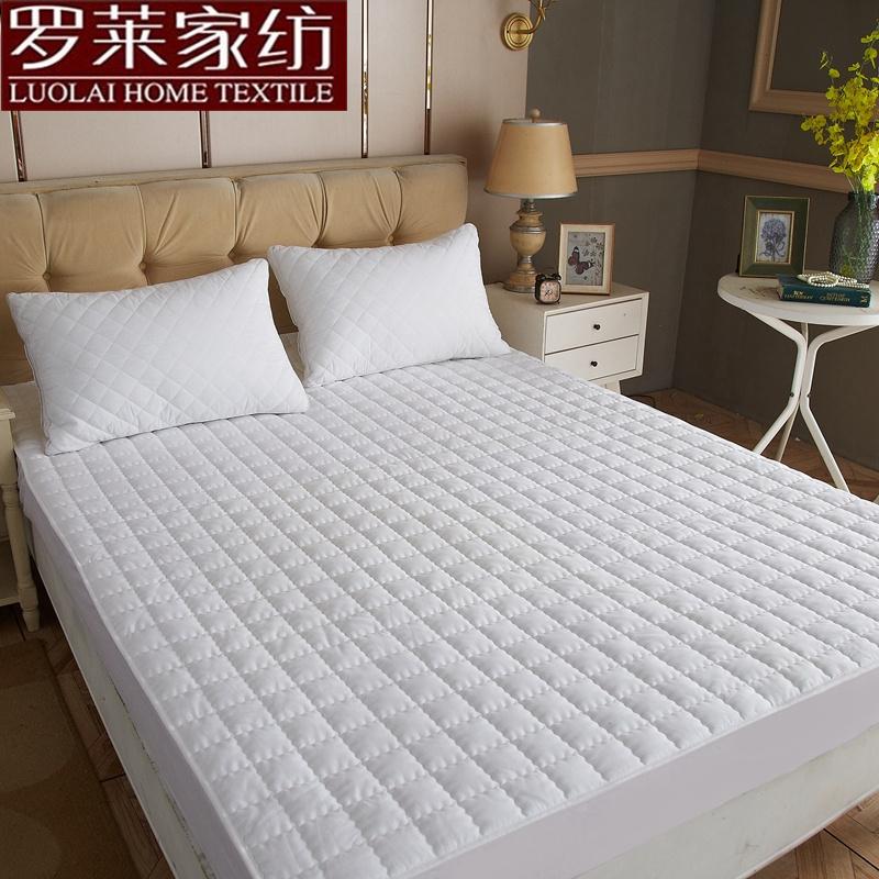 全纯棉席梦思保护套薄棕垫乳胶防滑套全包 100 罗莱棉床笠单件床罩