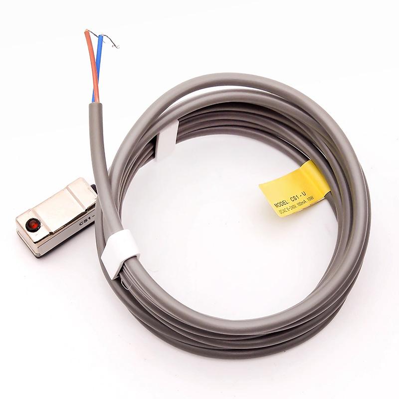磁性开关感应器cs1-u-m-f-j二线三线d-a93-c73-z73气缸接近传感器