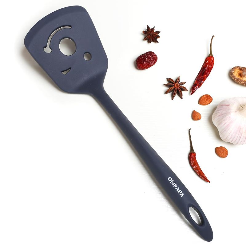 老爹 耐高温食品级硅胶饭勺 电饭煲不伤锅盛饭铲子米饭勺小铲子