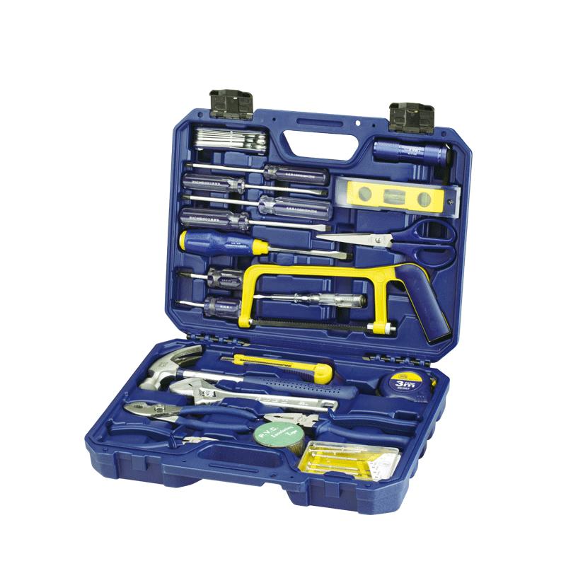 长城精工工具套装日常家用电工工具全套专业便携组合五金工具大全