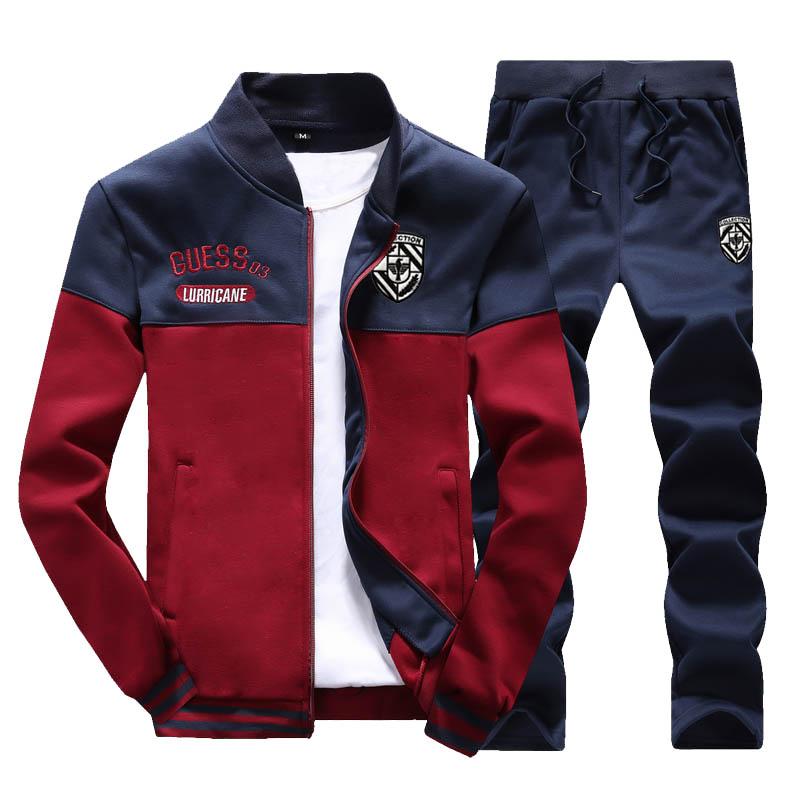 秋季运动套装男韩版休闲卫衣学生帅气跑步服青少年情侣时尚两件套