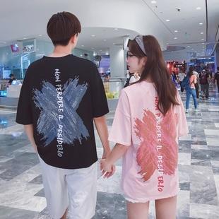 2019新款情侣装夏季短袖t恤