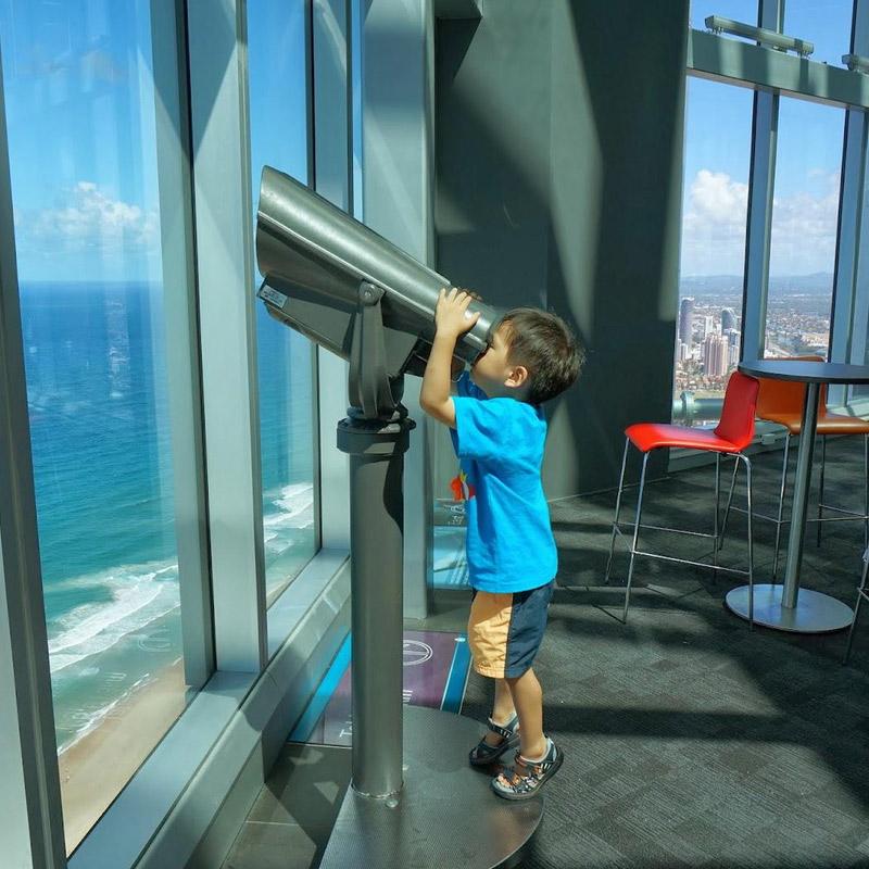 观景台门票 Skypoint Q1 澳大利亚黄金海岸星空塔门票 可订当日