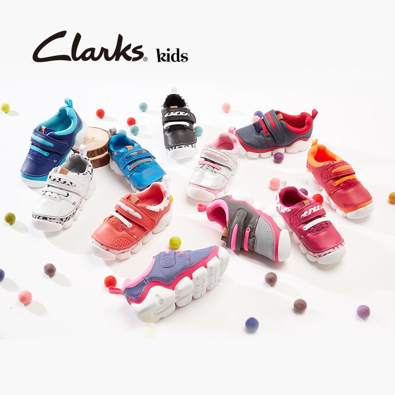 Clarks其乐童鞋男女童运动鞋儿童超轻皮鞋糖糖龙Leap Flex Inf