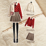 Fur lambs wool coat female short paragraph autumn and winter 2020 autumn models Parure little fur Young