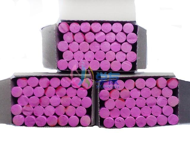 教学粉笔 无尘环保粉笔 单色红色蓝色黄色绿色粉笔 彩色单色粉笔