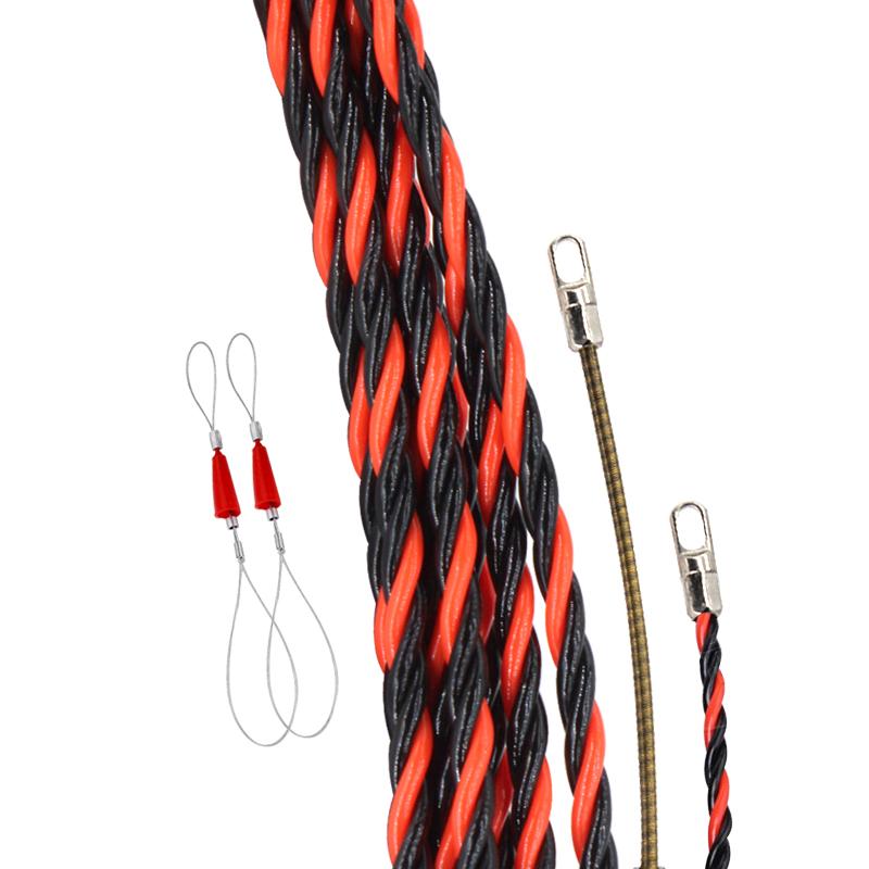 穿线器电工暗管拉线万能引线器大扁孔电工穿管器网线电线穿线神器