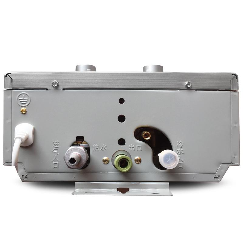 Qitian/奇田 JSQ12-B6(03)拉丝 强排式燃气热水器 6升热水器