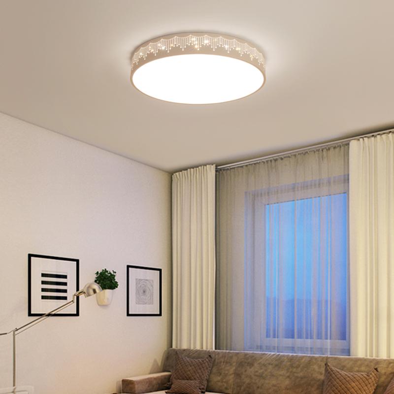 吸顶灯圆形卧室灯现代简约客厅灯过道走廊卫生间厨房阳台灯具 LED
