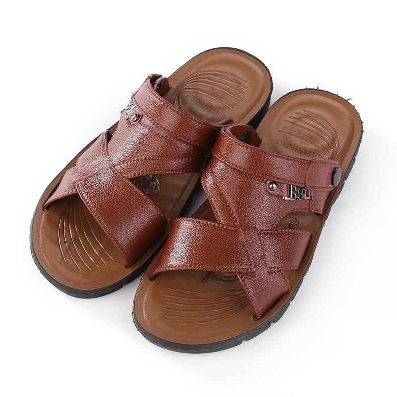 天天特价夏季成人凉拖鞋软底沙滩防滑两用男士凉鞋户外时尚休闲鞋