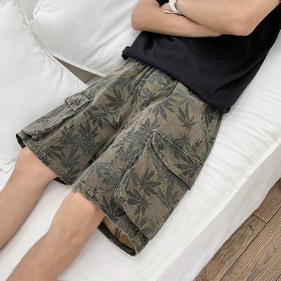 短裤男迷彩宽松牌子好不好