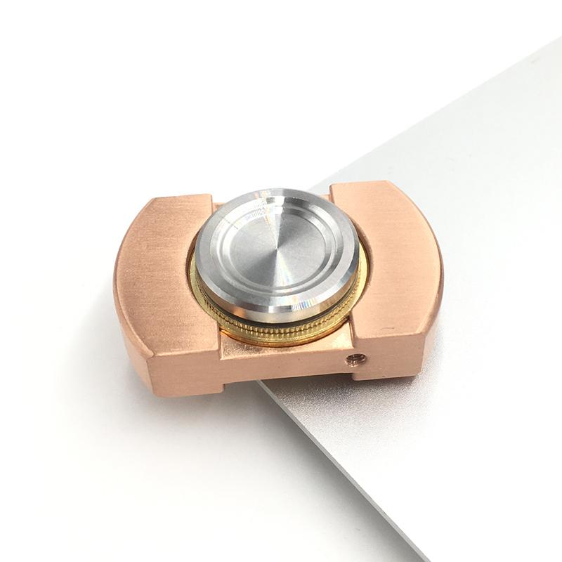 纯铜不锈钢指尖陀螺vorso迷你手指间螺旋成人减压玩具指上陀螺