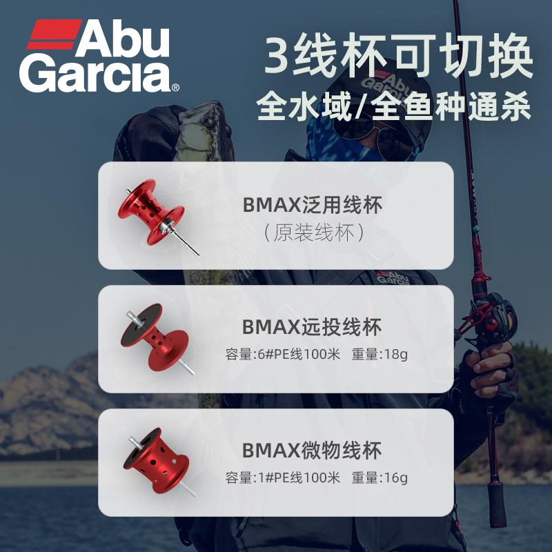 阿布水滴轮bmax3鱼线轮路亚轮全金属abu渔轮远投打黑鱼线轮双刹车【图2】