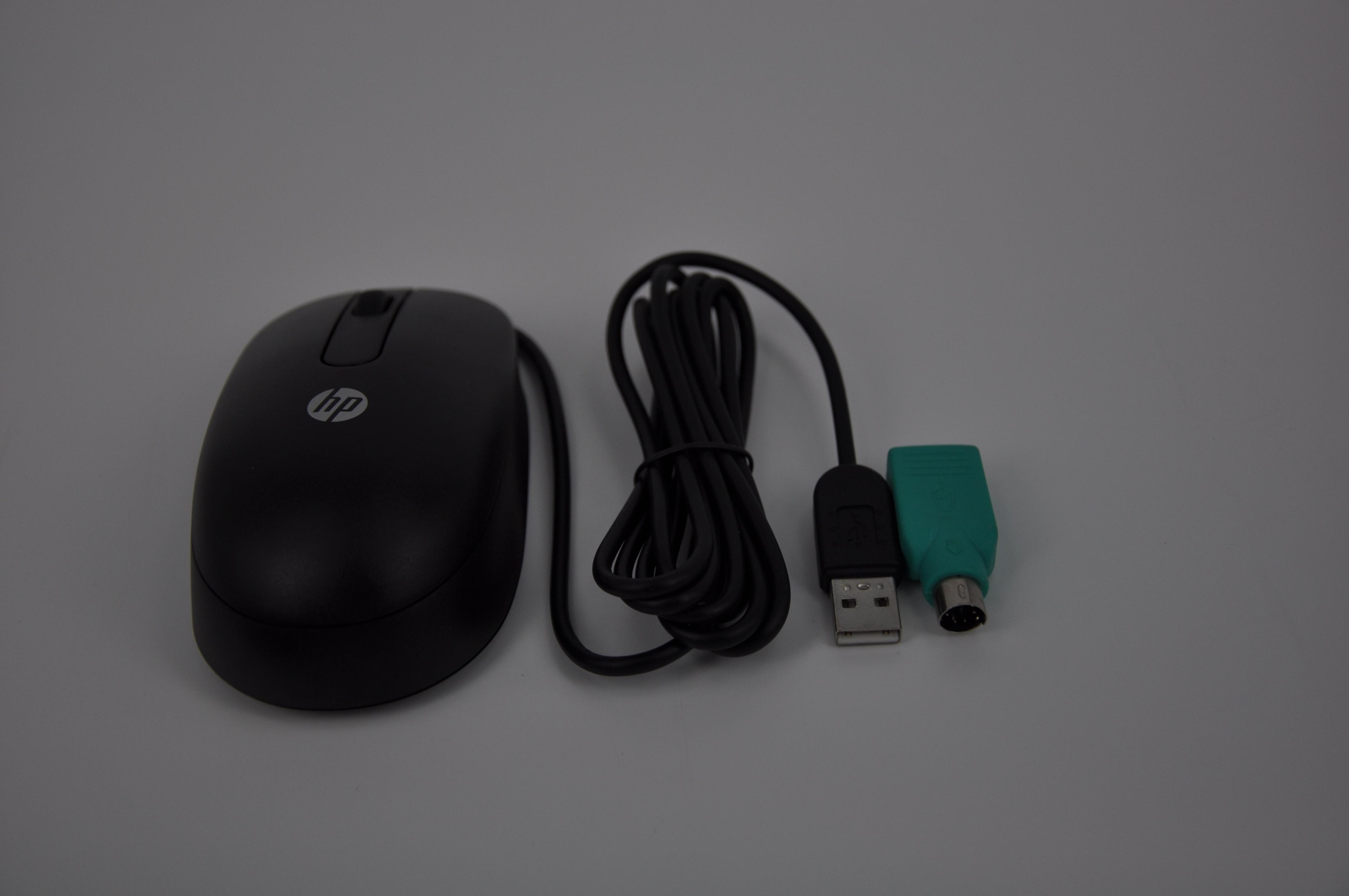 包邮 USB 惠普有线鼠标台式笔记本电脑通用游戏办公家用商务外接 HP