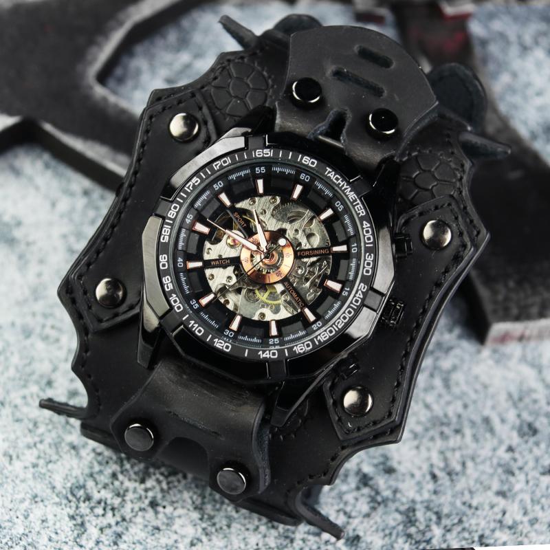 GT62 2019  钢铁老爷石英表赛博朋克手表 新款国产腕表休闲时尚黑科技