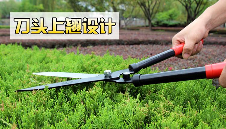 大花剪修枝大剪刀修剪花木果树枝草坪绿篱剪刀园林剪园艺工具家用