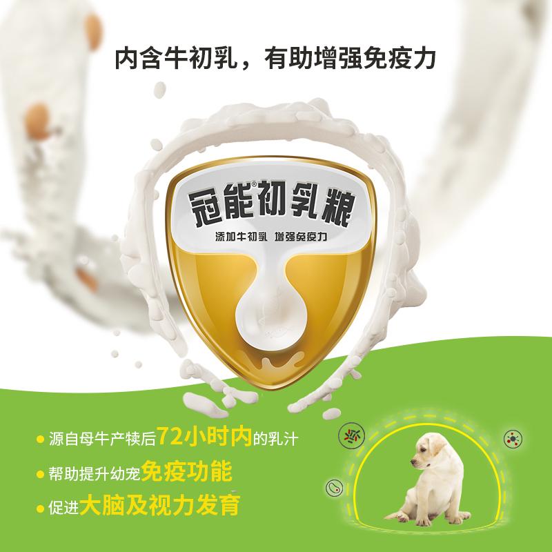 冠能狗粮小型犬幼犬泰迪幼犬粮贵宾柯基法斗比熊通用型狗粮2.4kg优惠券