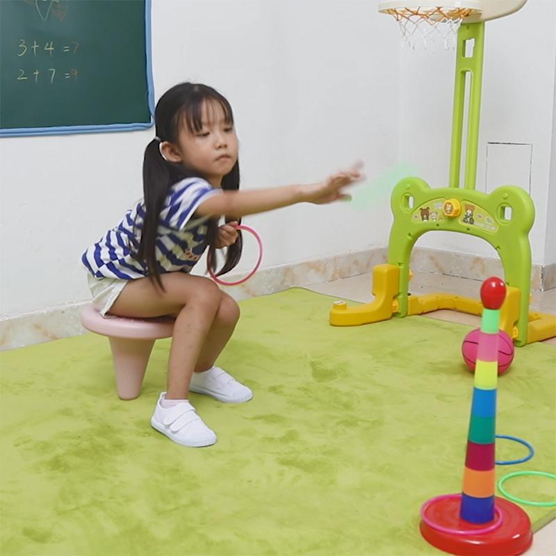 平衡独脚椅感统训练器材幼儿园儿童感觉统合独角凳椅趣味运动玩具