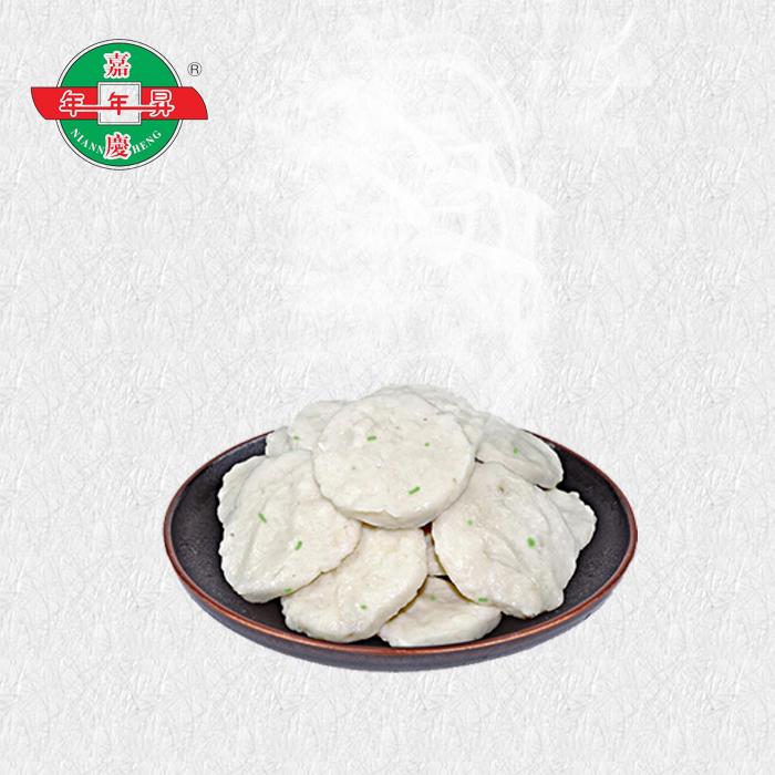 汕头海门特产正宗年年升纯手工墨鱼饼海鲜火锅食材小吃墨斗饼300g